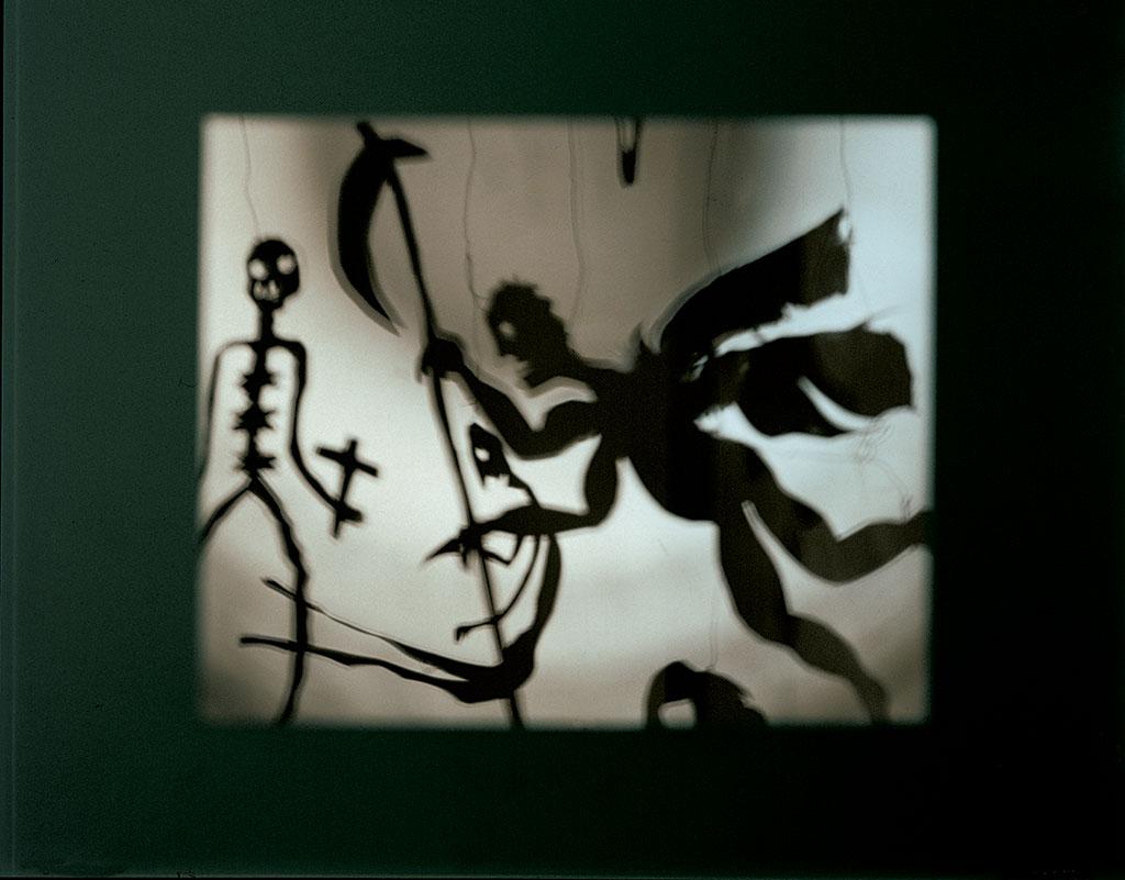 "Christian Boltanski, ""Schattentheater"", 1984. Sammlung Kunstmuseum Wolfsburg"