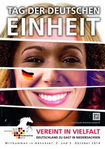 Plakatmotiv zum Tag der Deutschen Einheit
