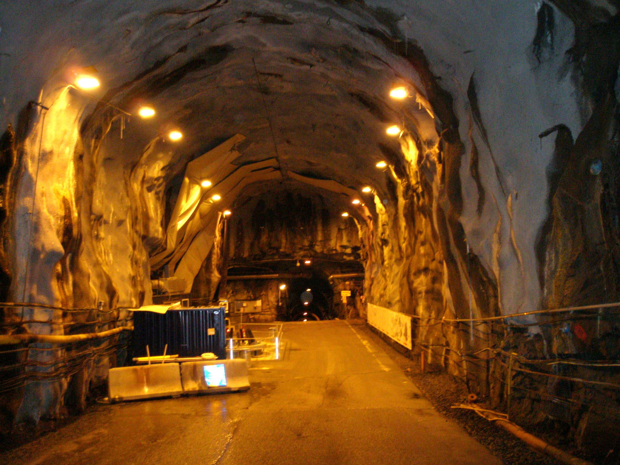 Der Tunnel von Äspö – hier forscht der Göttinger Professor Reitner