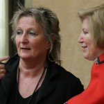 Sozialministerin Cornelia Rundt und ihre Kollegin Irene Alt aus Rheinland-Pfalz