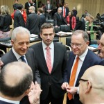 MP Stephan Weil und Ministerpräsidentenkollegen
