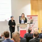 Die Institutsmitarbeiterinnen Nina Löchte und Corinna Mielke stellten erste Ergebnisse vor