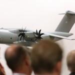 Ein Modell des neuen Transportflugzeugs der Luftwaffe- das erste Flugzeug dieser Art ist in Wunstorf stationiert