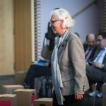 Hildegard Kempowski betritt die Bühne