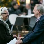 Hildegard Kempowski und Klaus Staeck im Gespräch