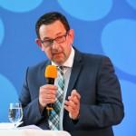 Staatssekretär Michael Rüter begrüßte die Gäste beim Abend der Region Hannover