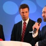 Talk über Naherholung mit Prof. Axel Priebs, Andreas Casdorff und Oliver Reich (v.l.)