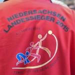 Ein Landessieger- die Rückenansicht ist zugleich Programm