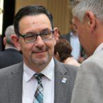 Staatssekretär Michael Rüter, Bevollmächtigter des Landes Niedersachsen, im Gespräch